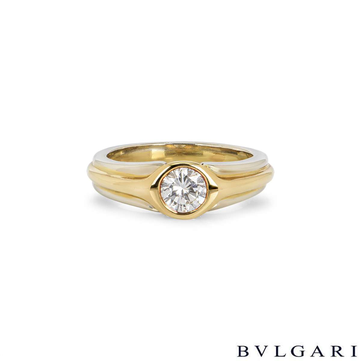 Bvlgari Diamond Ring 0.50ct H/VS2